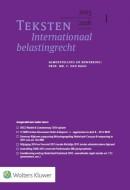 Teksten Internationaal & Europees belastingrecht 2015/2016