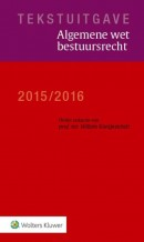 Tekstuitgave Algemene wet bestuursrecht 2015/2016