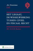 Het legaat, de wisselwerking tussen civiel en fiscaal recht