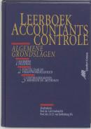 Leerboek accountantscontrole 1 Algemene inleiding . 2 Functie, taak en verantwoordelijkheid . 3 Controlebegrippen, -middelen en -methoden