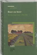 Groninger historische reeks Boer en heer
