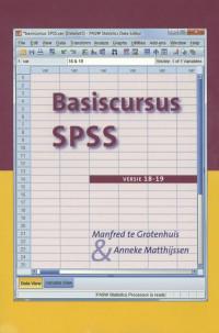 Basiscursus SPSS Versie 18-19