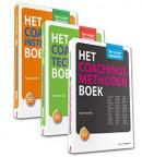 Basisboeken voor en door topcoaches, set 3 delen - Bevat: Het Coachingsmethoden Boek, Het Coachingstechnieken Boek, Het Coachingsinstrumenten Boek