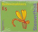 Stenvertblok Rekenmakkers set 5 ex E5 Leerlingenboek