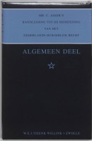 Mr. C. Asser's handleiding tot de beoefening van het Nederlands burgelijk recht Algemeen deel [1]