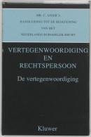 Mr. C. Asser's handleiding tot de beoefening van het Nederlands burgerlijk recht De vertegnwoordiging