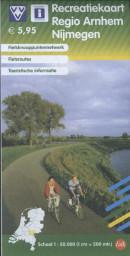 Recreatiekaart regio Arnhem Nijmegen (2014)