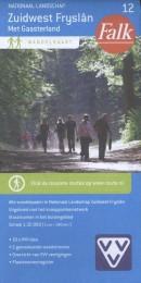 Falk VVV wandelkaart 12 Zuidwest Fryslan met Gaasterland, inclusief wandelknooppunten