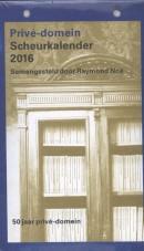 Privé-domein Scheurkalender 2016