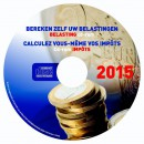 Belasting cd-rom Impôts 2015