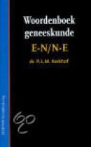 Woordenboek geneeskunde E-N/N-E