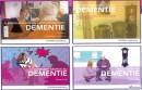Pakket met 4 boekjes over dementie Dementiereeks (4ex)