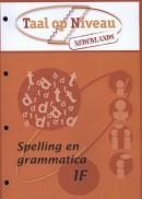 Spelling en grammatica 1F