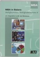 Mba in balans be/ba ii