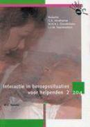 Interactie in beroepssituaties voor helpenden 2 Leerlingenboek