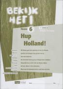 Bekijk het ! 6 Vmbo-Lwoo/B Hup Holland ! Werkboek