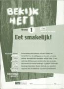 Bekijk het! vmbo-KGT 1/1 eet smakelijk werkboek