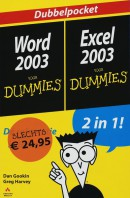 Word 2003 + Excel 2003 voor Dummies, dubbelpocket