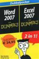 Dubbelpocket Word 2007, Excel 2007 voor dummies