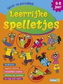 Speel- en puzzelblok Leerrijke spelletjes (6-8 jaar)