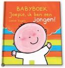 Joepie, ik ben een jongen! (Babyboek met gewatteerde omslag)