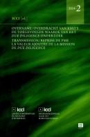 ICCI Overname en overdracht van kmo's. De Transmission et reprise de PME