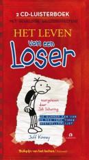 Het leven van een loser, luisterboek, 2 CD's voorgelezen door Job Schuring