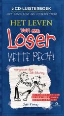 Het leven van een loser - Vette pech, 2 cd\'s luisterboek voorgelezen door Job Schuring