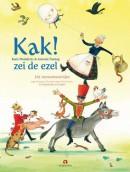 Kak! zei de ezel, 101 nonsensversjes van Humptie Dumptie tot Orkie Porkie, Koos Meinderts, illustraties Annette Fienieg