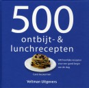 500 ontbijt- en lunchrecepten
