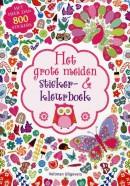 Het grote meiden sticker- en kleurboek