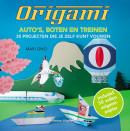Origami: auto's, boten en treinen