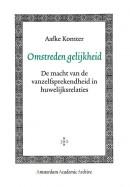 Amsterdam Academic Archive Omstreden gelijkheid