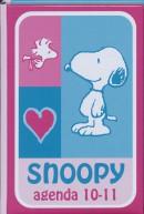 Schoolagenda 10-11 Snoopy