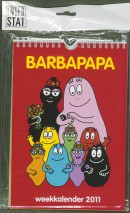 Barbapapa weekkalender 2011