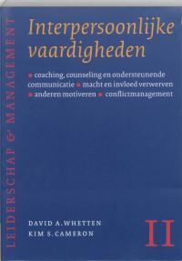 Leiderschap & Management Interpersoonlijke vaardigheden
