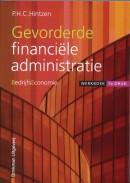 Gevorderde financiële administratie Bedrijfseconomie Werkboek