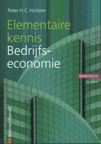 Financiële Beroepen Elementaire kennis Bedrijfseconomie, werkboek