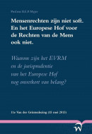 Mensenrechten zijn niet soft. En het Europese hof voor de rechten van de mens ook niet.