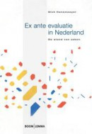 Ex ante evaluatie in Nederland