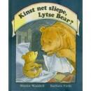Kinst net sliepe lytse bear