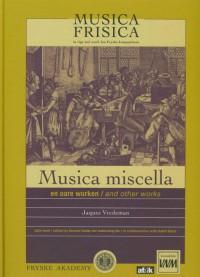 Musica Frisica Jaques Vredeman 6 Musica Frisica