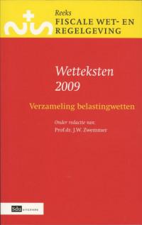 Reeks Fiscale Wet- & Regelgeving Wetteksten verzameling belastingwetten 2009