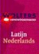 Wolters' handwoordenboek latijn nederlands