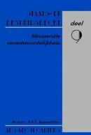 Ars Aequi cahiers Staats- en bestuursrecht Ministeriele verantwoordelijkheid