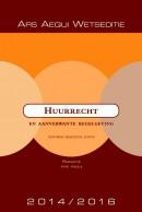 Ars Aequi Wetseditie Huurrecht en aanverwante regelgeving 2014/2016