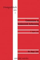 Prinsengrachtreeks Commentaren op fundamentele herbezinning
