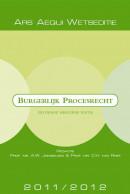Ars Aequi Wetseditie Burgerlijk Procesrecht 2011/2012