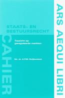 Ars Aequi cahiers Staats- en bestuursrecht Toezicht op gereguleerde markten