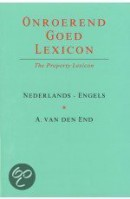 Onroerend Goed Lexicon/The Property Lexicon